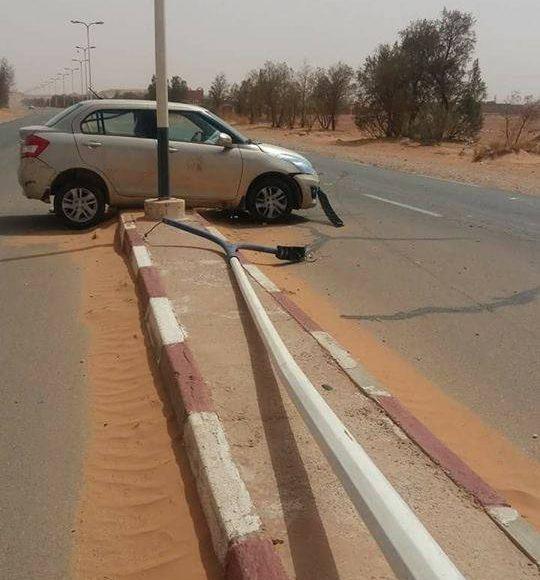 حادث مرور أدرار