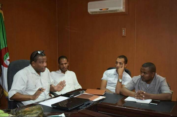 لقاء الجمعيات مع  المجلس الشعبي الولائي