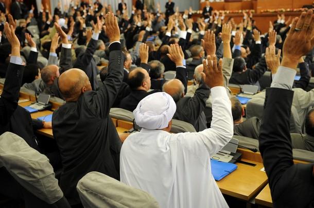 ALGERIA-POLITICS-CONSTITUTION-PARLIAMENT